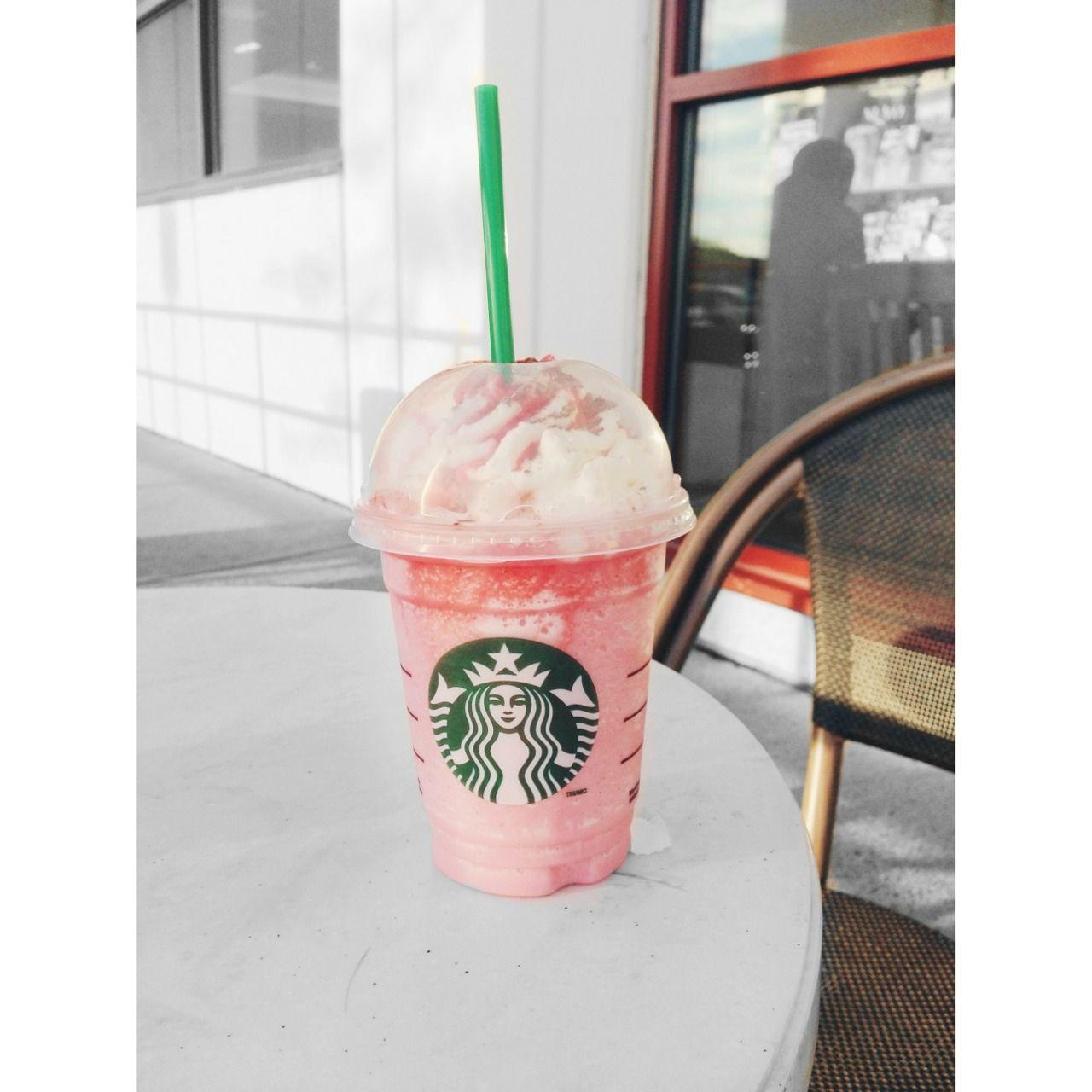 starbucks vanilla bean frappuccino | Starbucks Vanilla Bean Frappuccino With Raspberry Starbucks - vanilla ...
