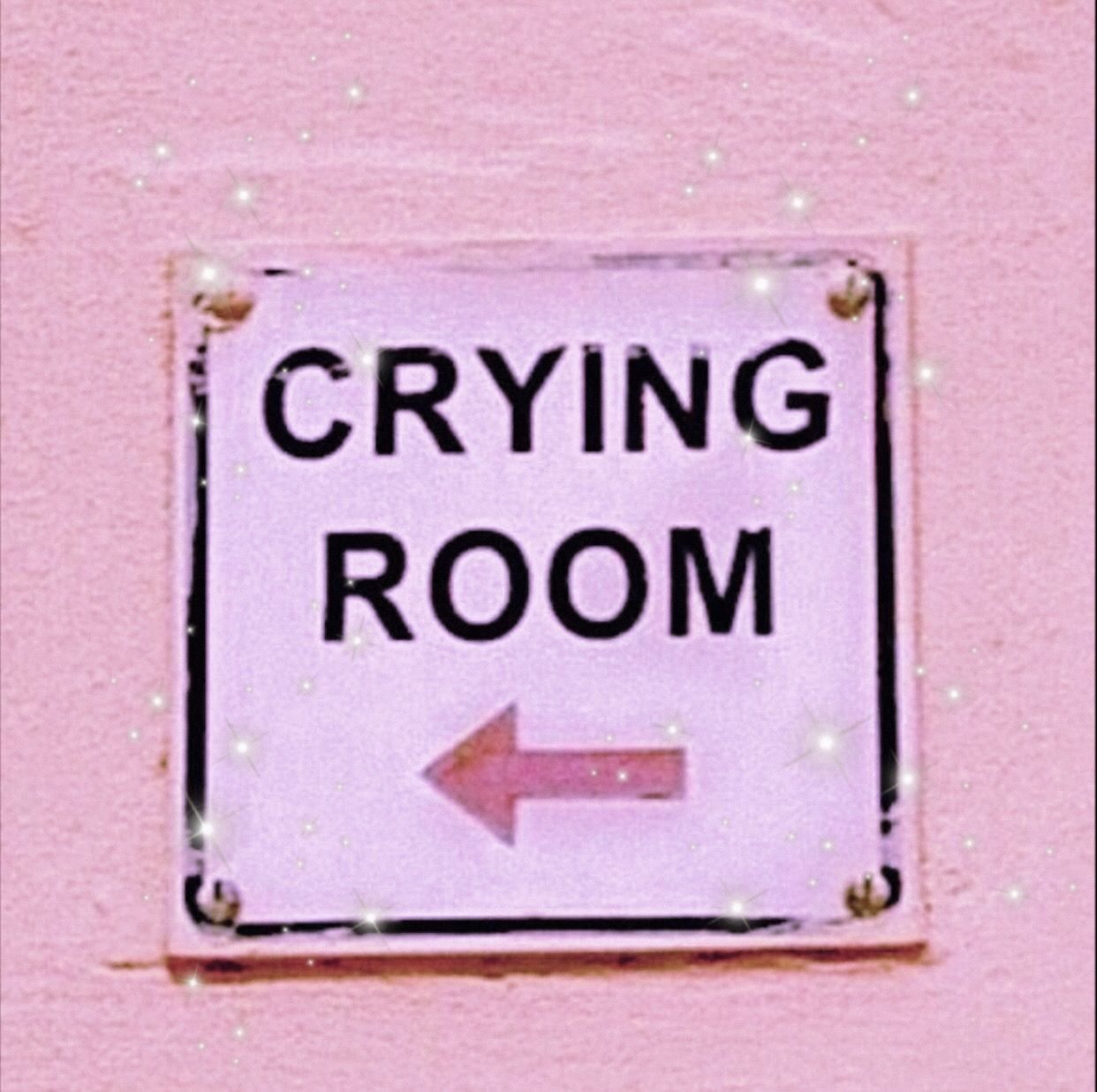 Crying Room Pink Wall Decor Picture Collage Wall Art Collage Wall