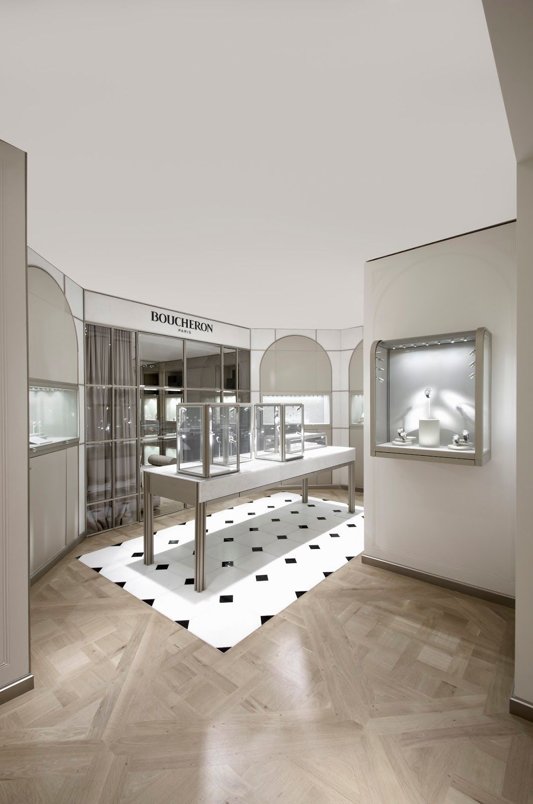 Colin Streater Photography: New Boucheron Store in Harrods.   珠宝店 ...