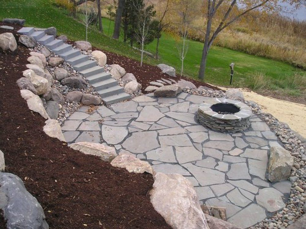 Lovely 20+ Best Stone Patio Ideas For Your Backyard