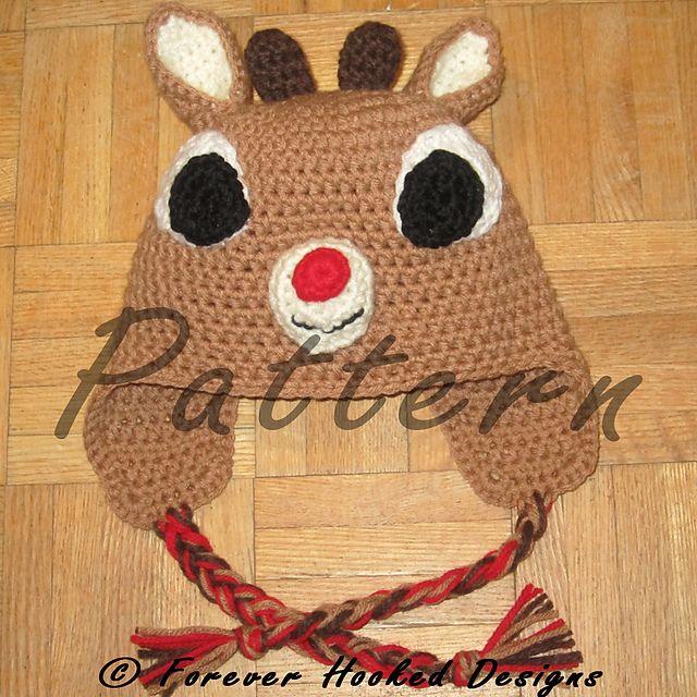 reindeer hat - on  ravelry