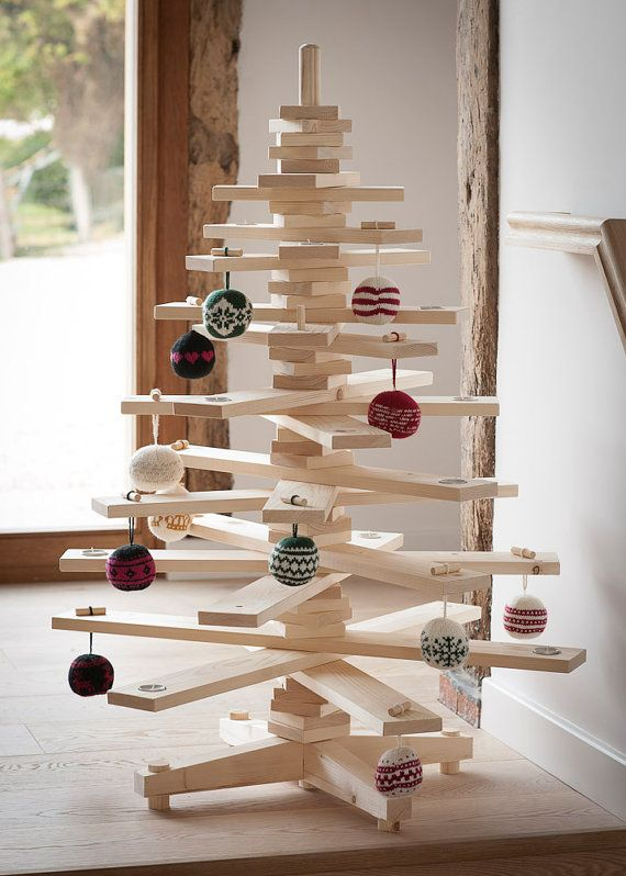 3ft Wooden Christmas Tree by timbatree on Etsy, £8900 wooden