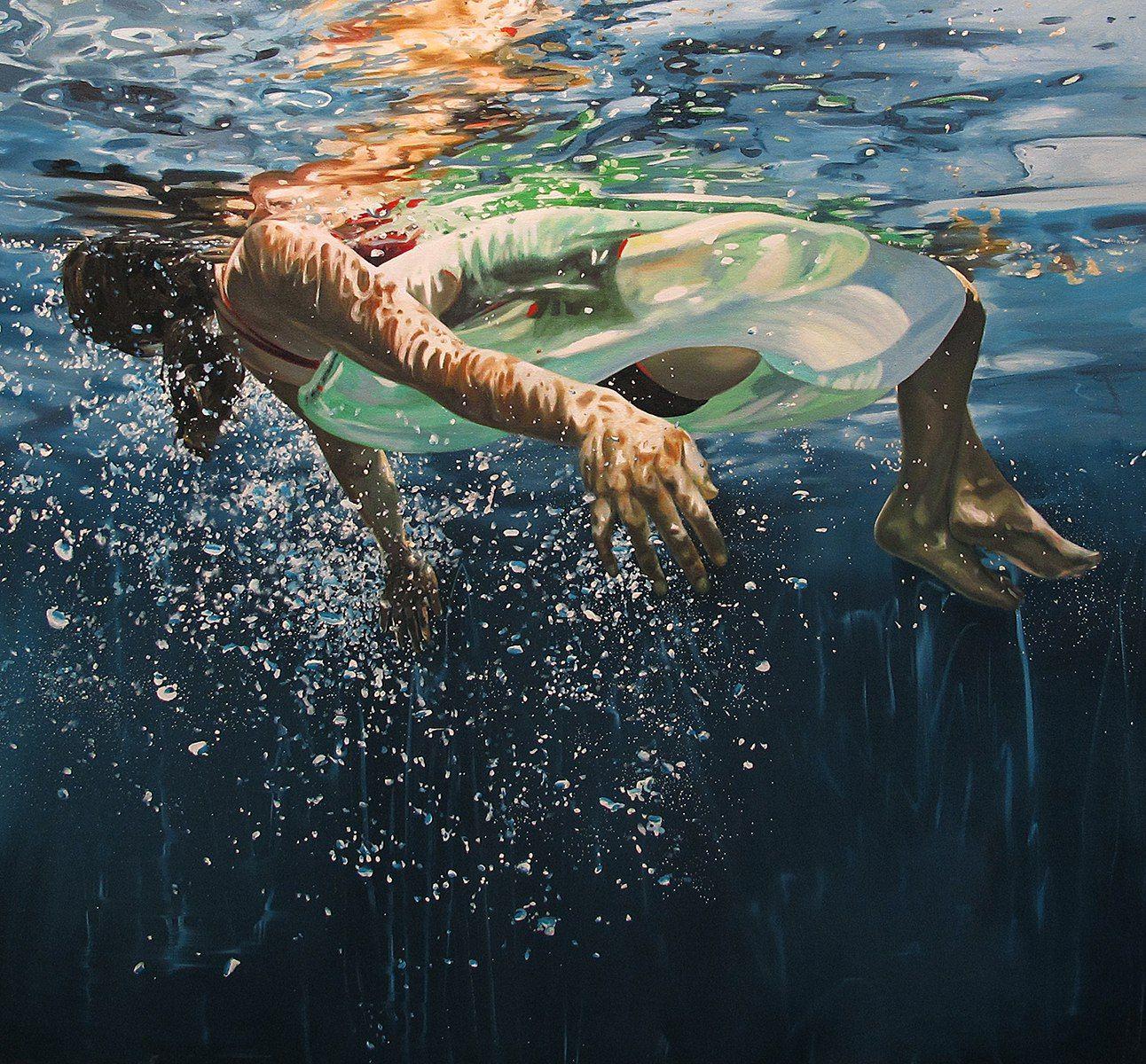 underwater paintings artwork - 720×669