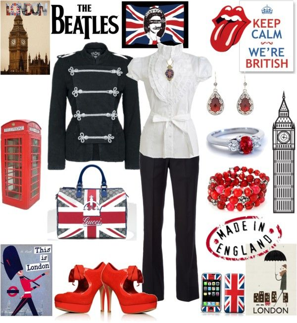 """London."" by ana-cris on Polyvore"