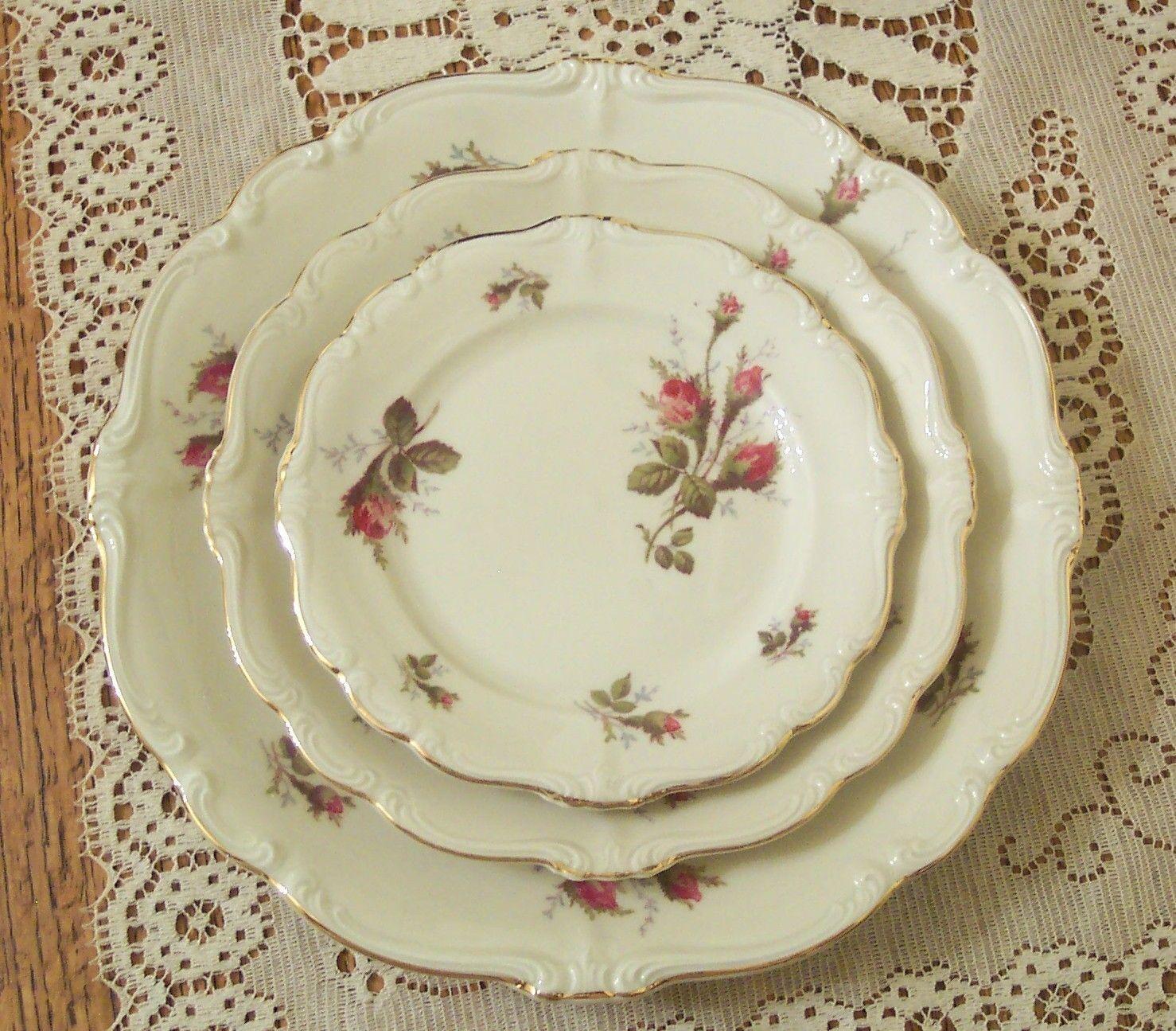 Rosenthal China Patterns 1950 | dinnerware rosenthal rosenthal moss rose  sc 1 st  Pinterest & Rosenthal China Patterns 1950 | dinnerware rosenthal rosenthal moss ...