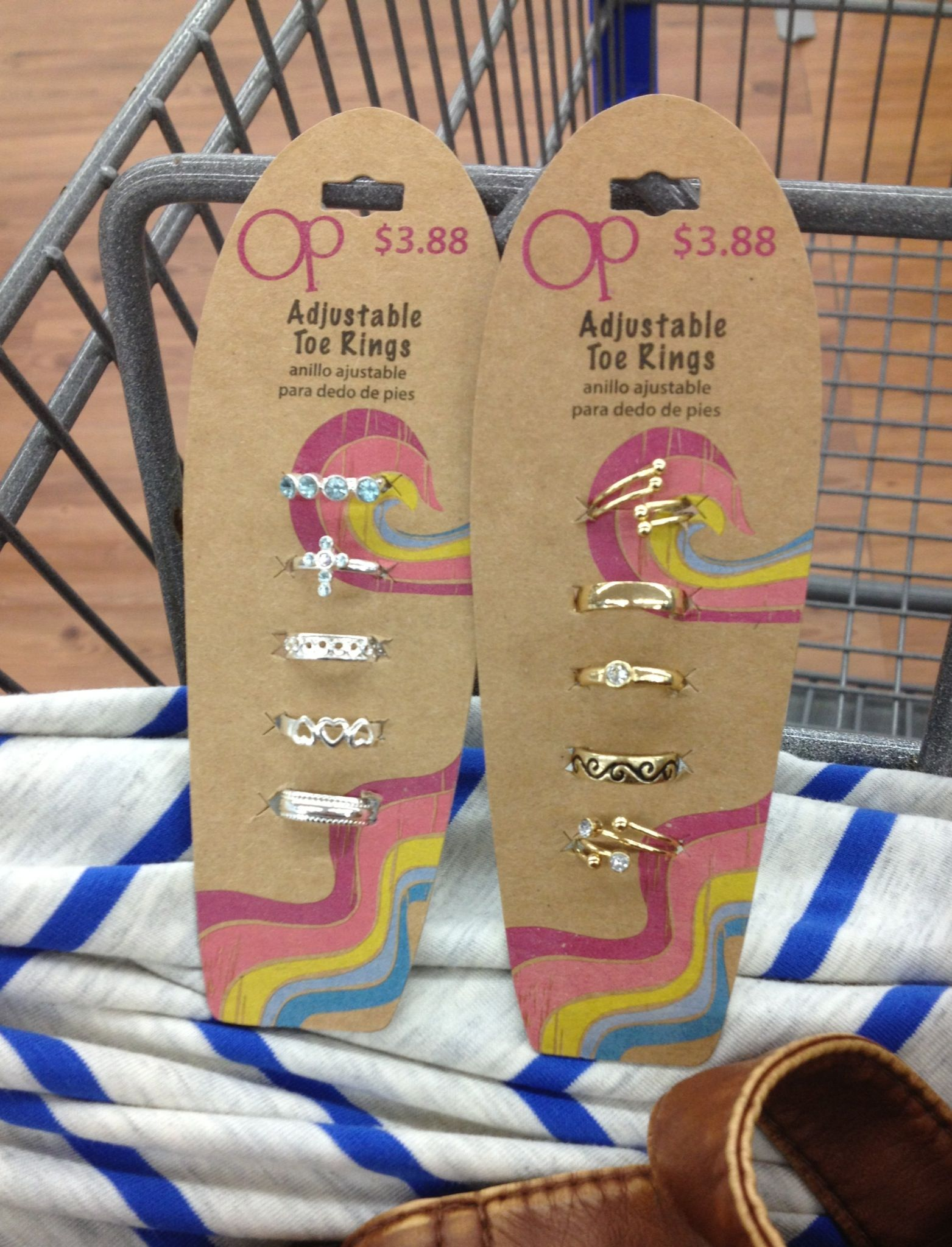 7de339744b9b6 Cute Toe rings at Walmart.. Love Toe rings!!   Jewelry   Toe rings ...