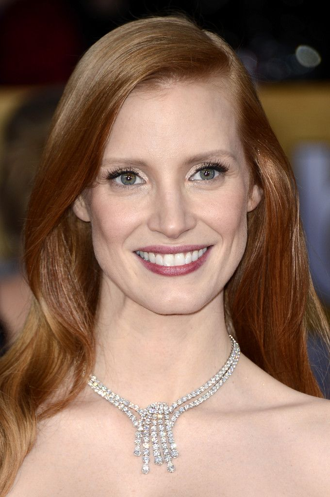 How To Get Jessica Chastain S Red Hair Color Jessica Chastain Red Hair Color Cute Hair Colors