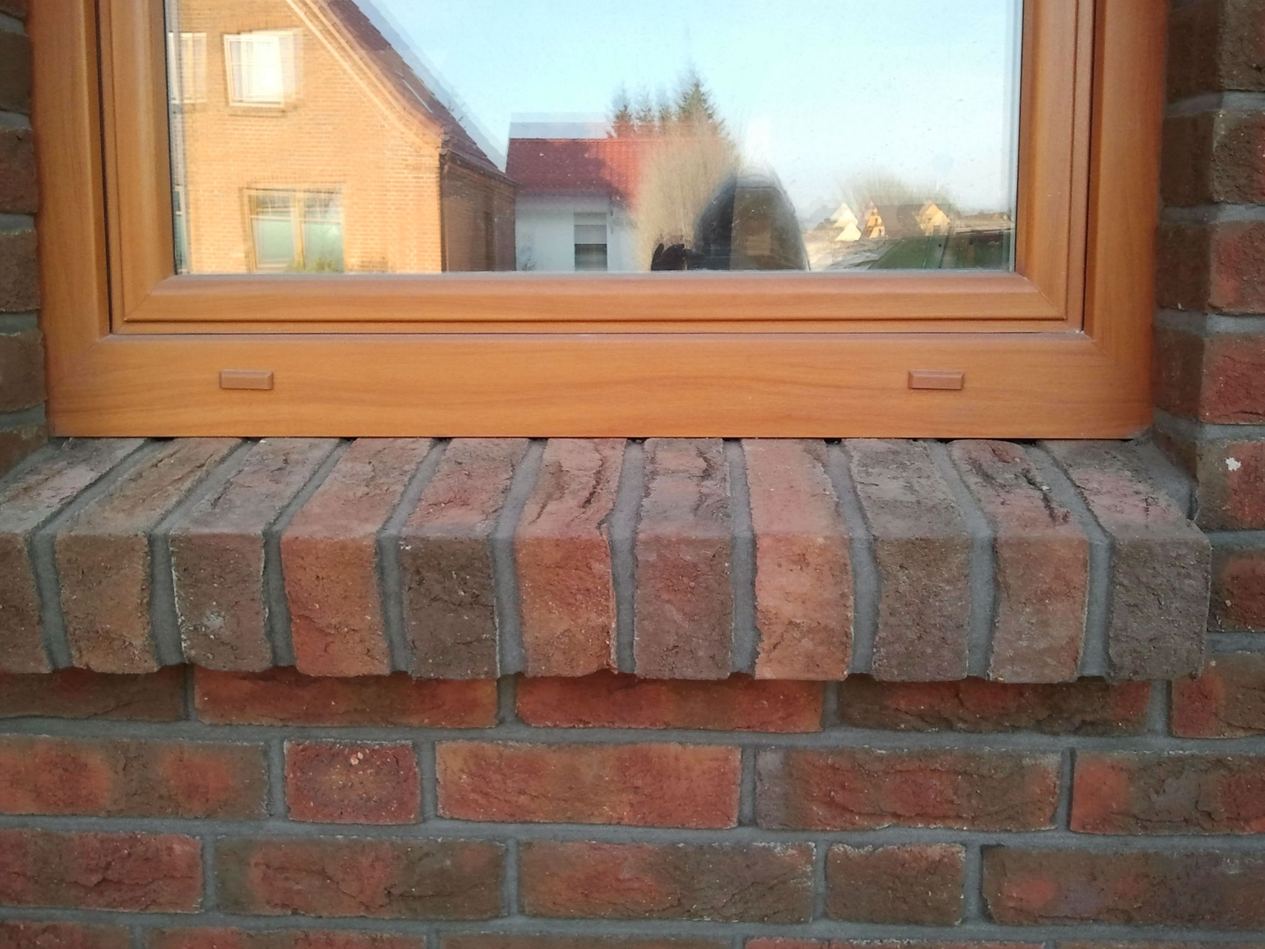 Fensterbank als Rollschicht | Fassade | Pinterest | Fensterbänke ...