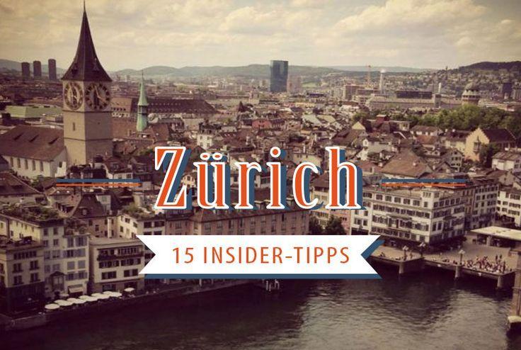 15 Insider Tipps für die Städtereise nach Zürich: Wo Einheimische in Zürich am liebsten essen, trinken, feiern. Tipps die nicht in jedem Reiseführer stehen. http://viel-unterwegs.de/insider-tipps-zuerich/