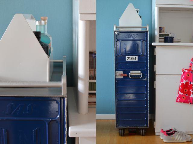 Spind Wohnzimmer ~ Neu im wohnzimmer ein airline trolley storage and interiors
