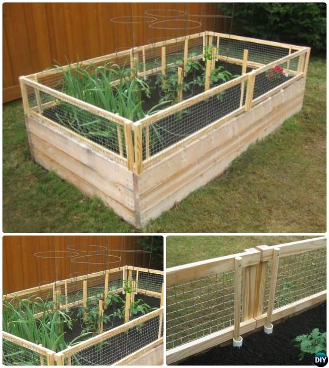 20+ DIY Raised Garden Bed Ideas Instructions [Free Plans