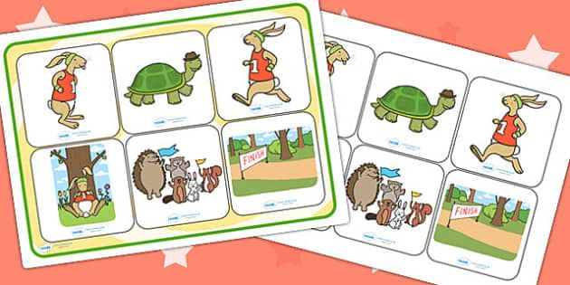 The Tortoise And The Hare Storyboard Template Storyboard Hare