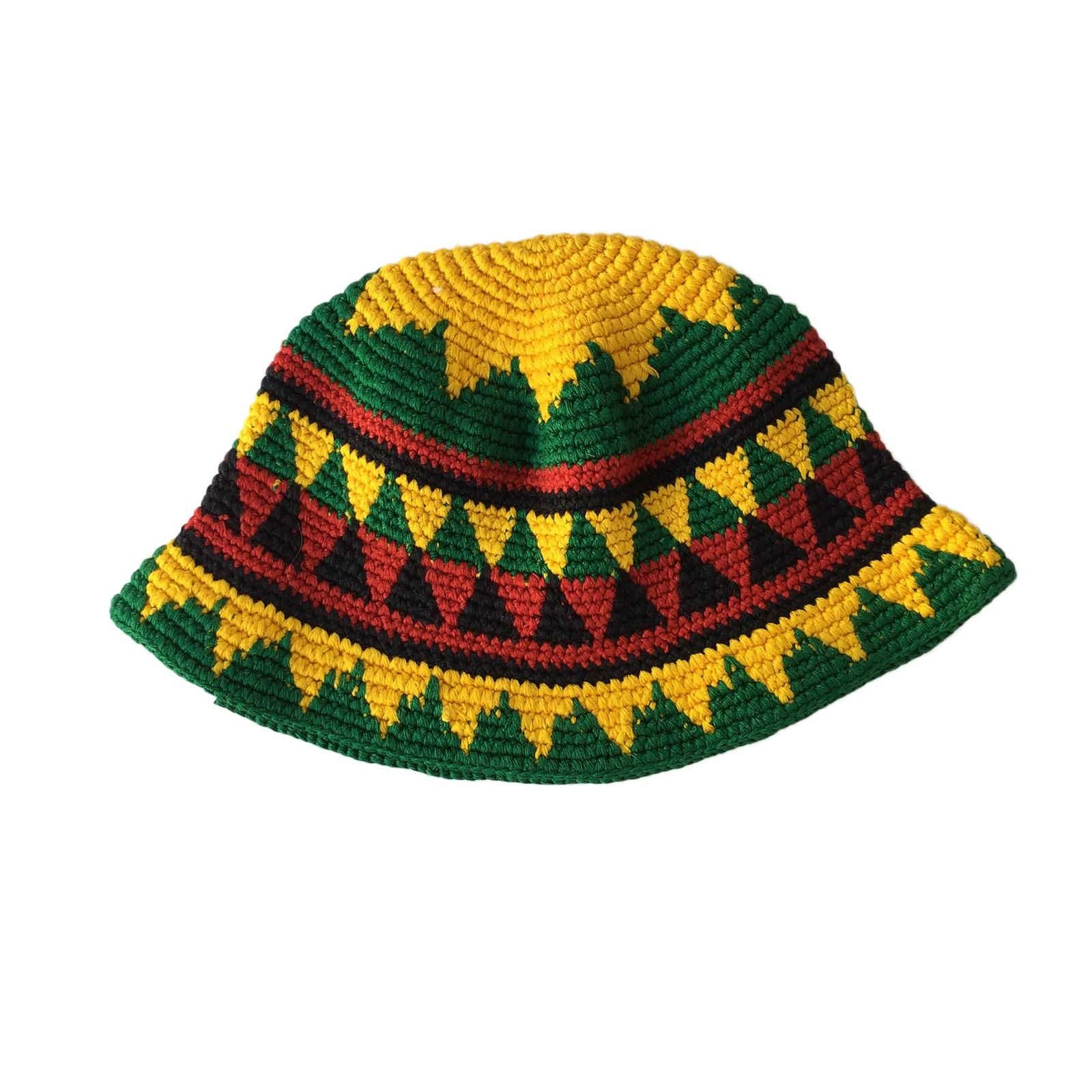 c7ee9c8349a Skullcap Skull Cap Kufi Rasta Surfer Reggae Jamaica Handmade 100% Cotton SM  fit
