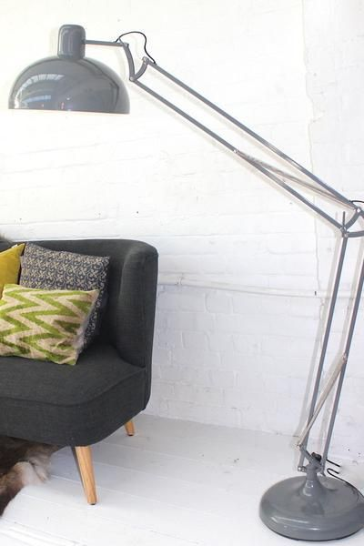 Soft Grey Floor Lamp The Forest Co Chalet Pinterest Lampen
