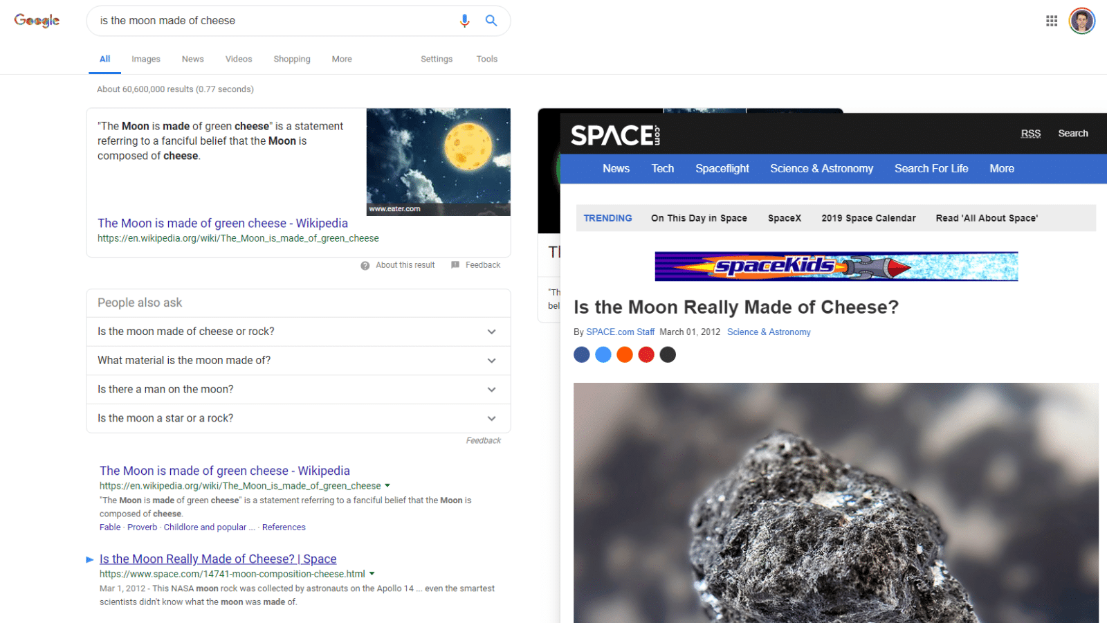This Chrome Extension Lets You Preview A Site S Google Results Chrome Extension Google Chrome Extensions Google Search Results