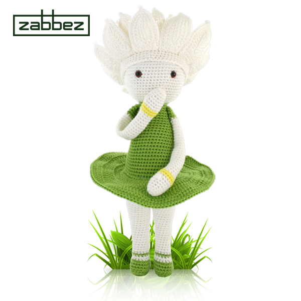 Waterlily Winnie crochet pattern by Zabbez - Bas den Braver | ZABBEZ ...