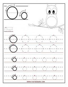 Free Printable letter O tracing worksheets for preschool. Free ...
