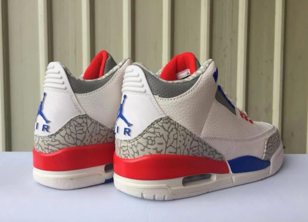 AIR JORDAN Red White and Blue Retro 3