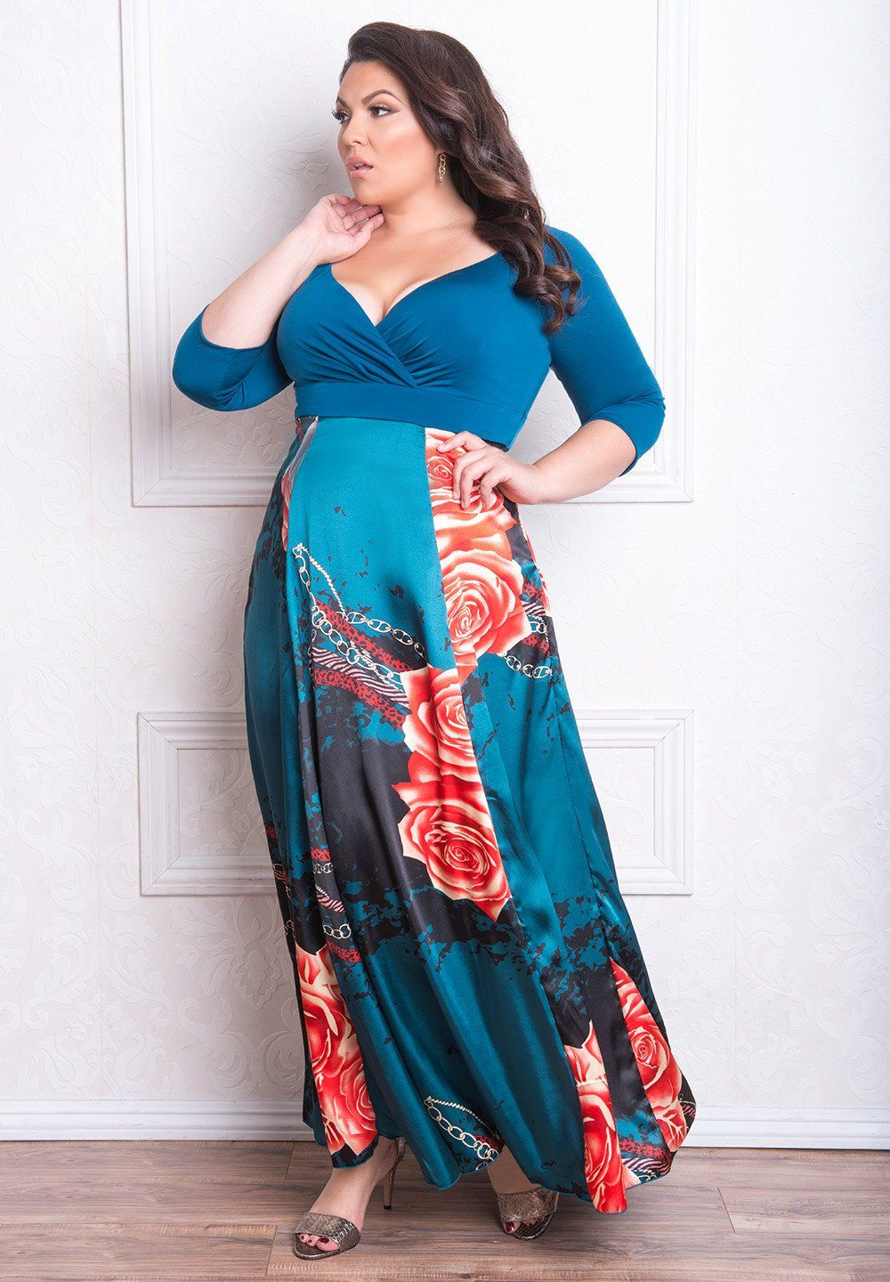 Aisha Dress | Print chiffon, Abstract print and Maxi dresses