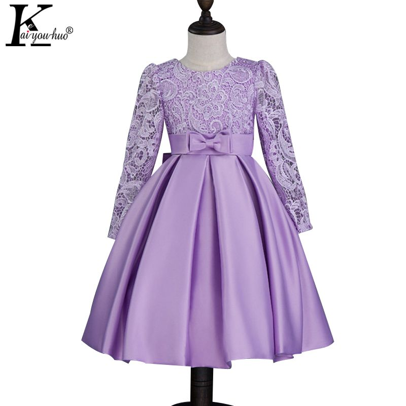 Girls Wedding Dress Vestido Infantil Children\'s Princess Dresses For ...