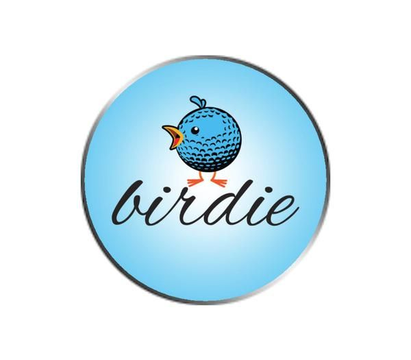 Birdie Golf Emoji Ball Marker Golf Ball Markers Markers