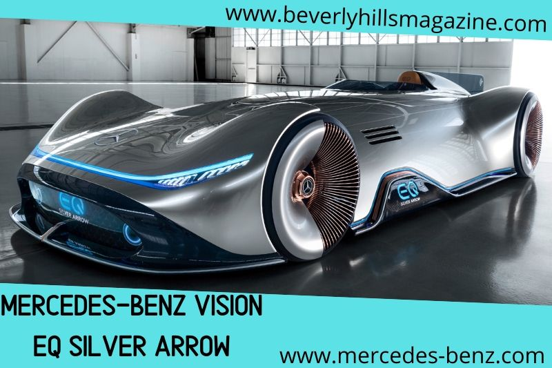 Dream Cars The Mercedes Eq Silver Arrow Beverly Hills Magazine Latest Mercedes Benz Benz Dream Cars