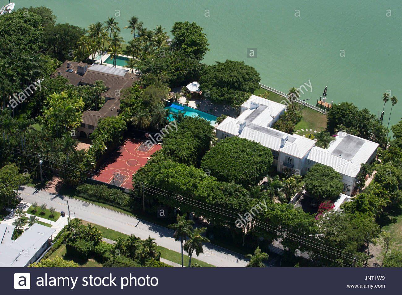 Phil Collins Neue Haus In Miami Links Im Bild 23 Juni 2015