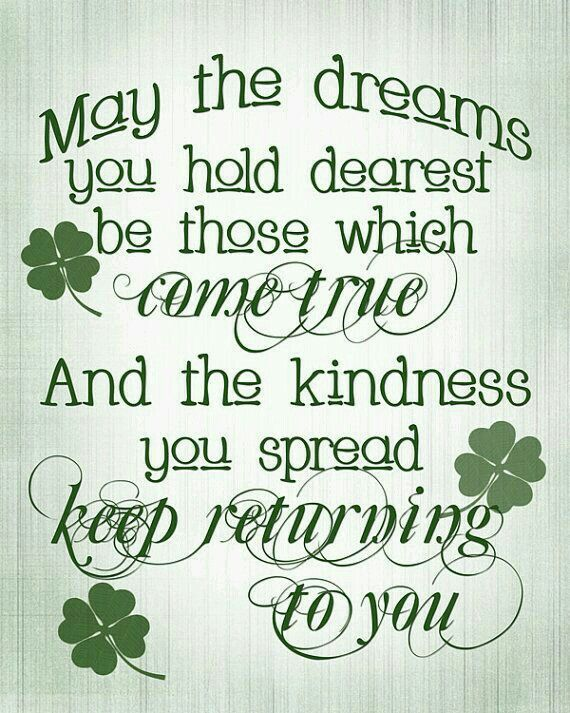 St Patrick S Day Irish Quotes Inspirational Quotes Quotes