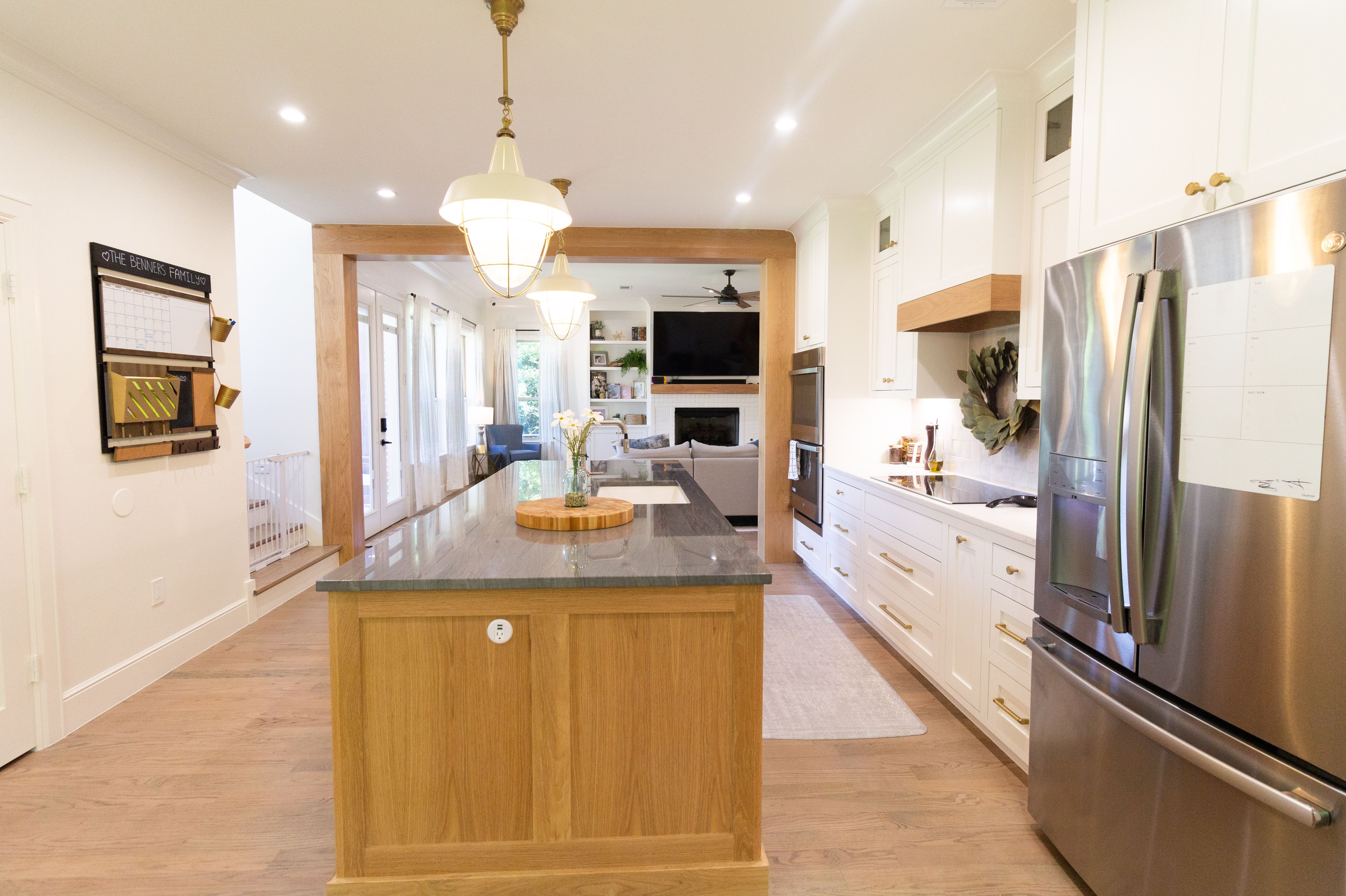 Scandinavian Kitchen With Blonde Oak Cabinets Kitchen Design Small Home Remodeling Kitchen Remodel