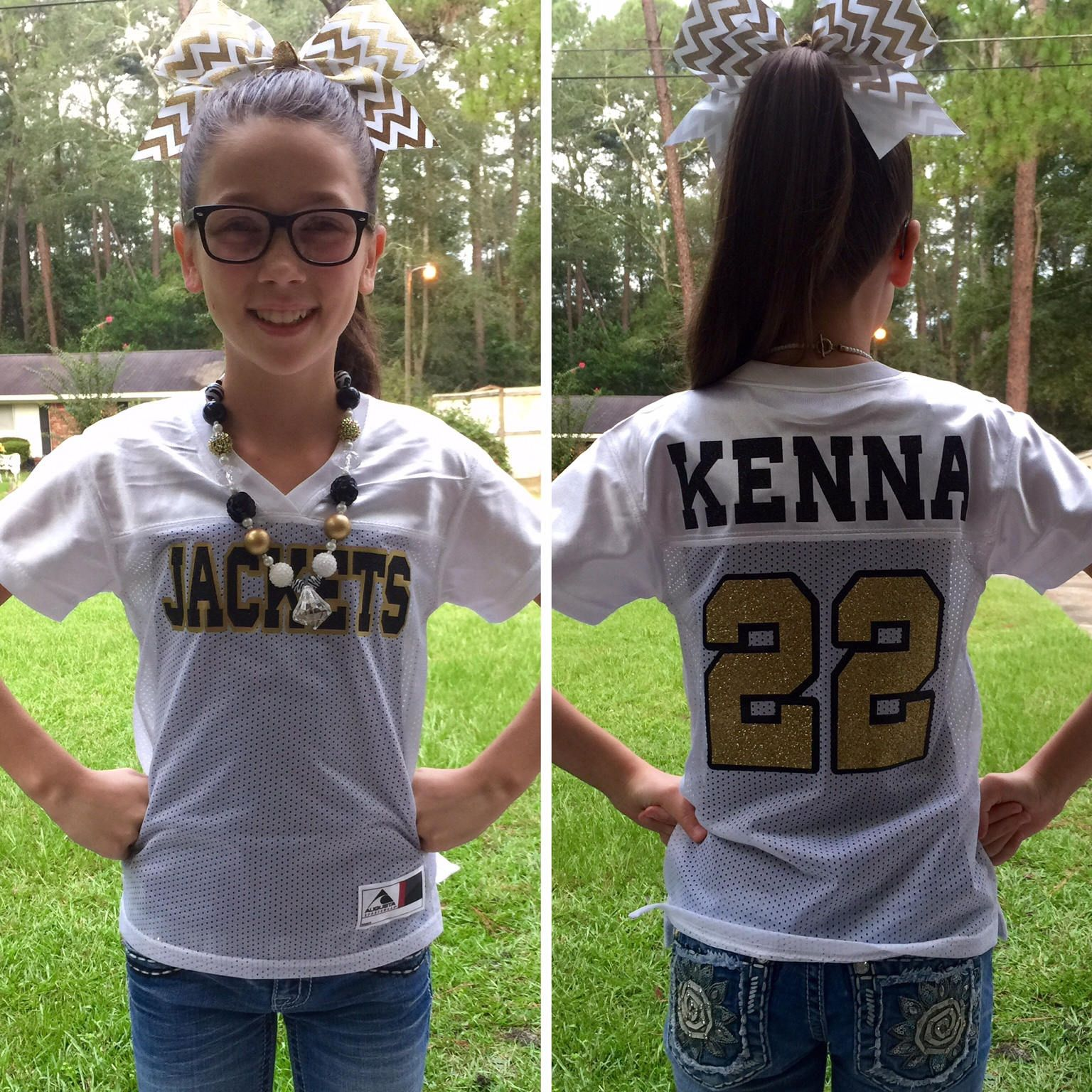 Custom Football Jersey, Monogrammed Jersey, Game Day ...