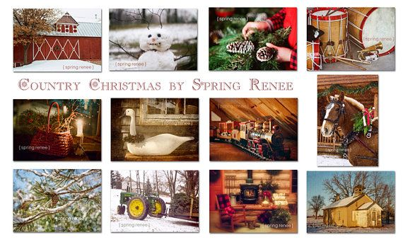 Christmas Greeting Cards  12 postcards  Home by LittleRedHairGirl, $22.00 © Spring Renee