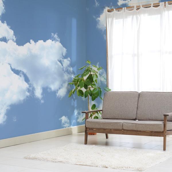 広がる青空の壁紙 いつでも晴れやかな気分にしてくれると思います