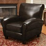 Fabulous Edmond Club Leather Chair Costco 290 Club Chairs Machost Co Dining Chair Design Ideas Machostcouk