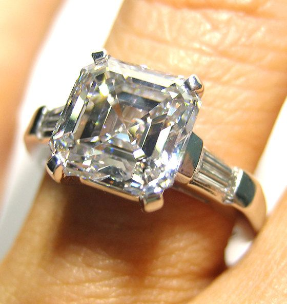 cbc5423ab796b We love the Asscher cut diamond, because it's got an antique feel to ...
