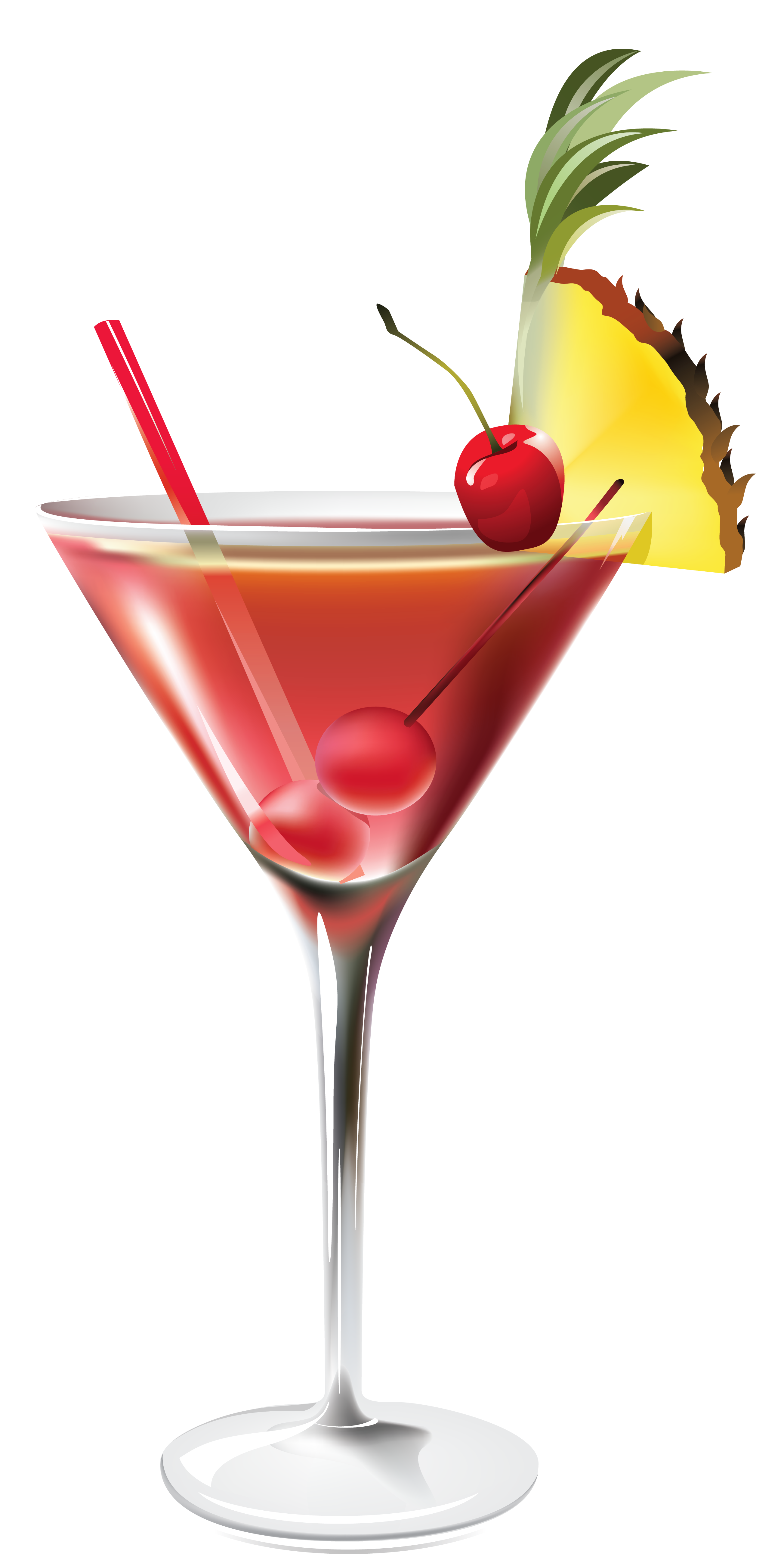 Cocktail with Pineapple PNG Clipart Picture อาหาร, น้ำ
