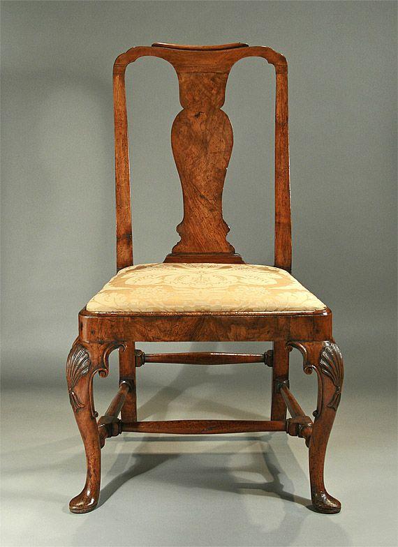 Queen Anne Walnut Side Chair - Queen Anne Walnut Side Chair My QUEEN Anne Pinterest Queen