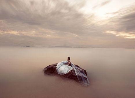 Wedding photography award winners. 1st Place - Creative Portrait - AG|WPJA Q1 2011