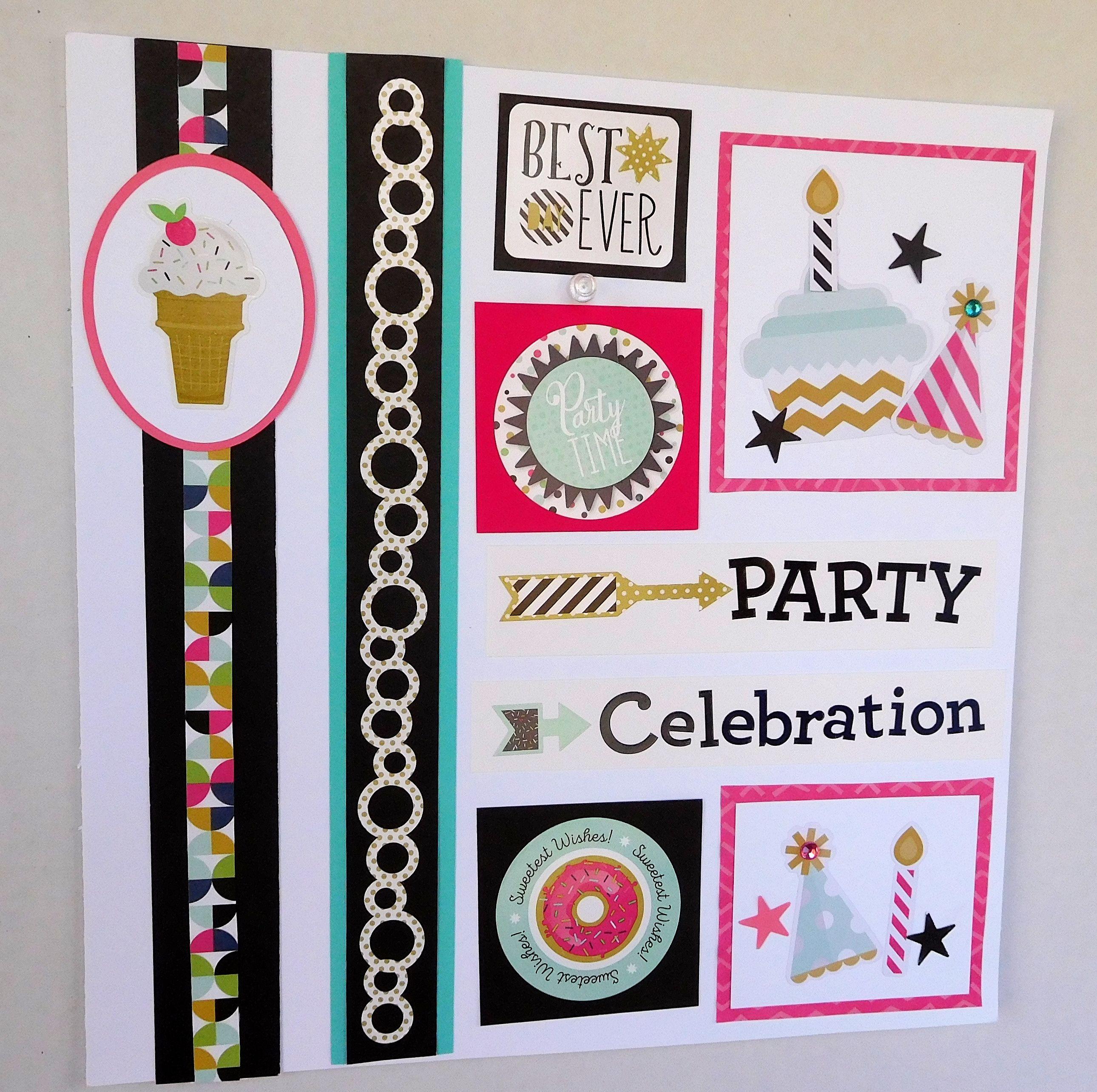 Scrapbook ideas creative memories - Creative Memories Scrapbook Ideas For Birthdays