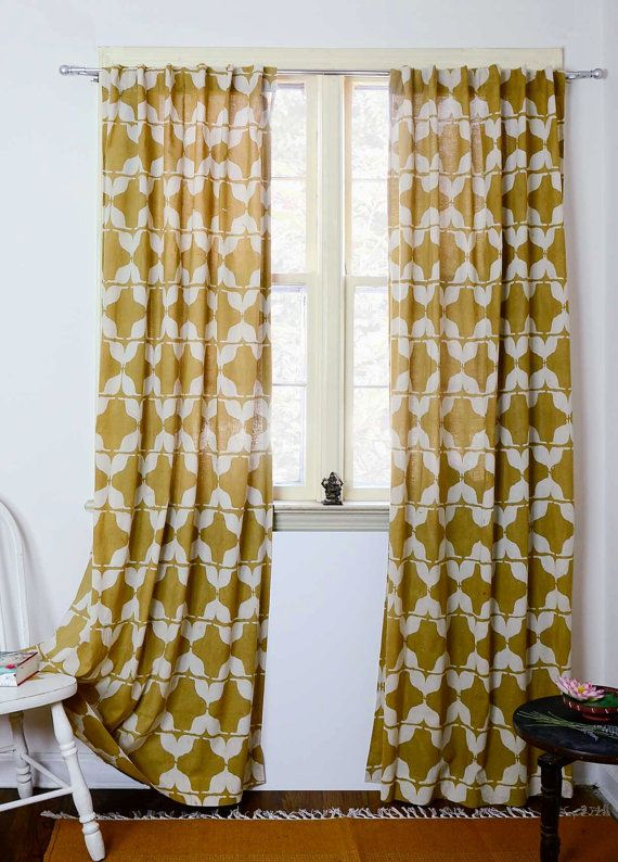 Hey I Found This Really Awesome Etsy Listing At 234821806 Yellow Curtains Mustard Window