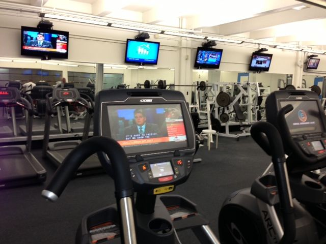 Cardio Theater Gym Equipment Cardio Gym