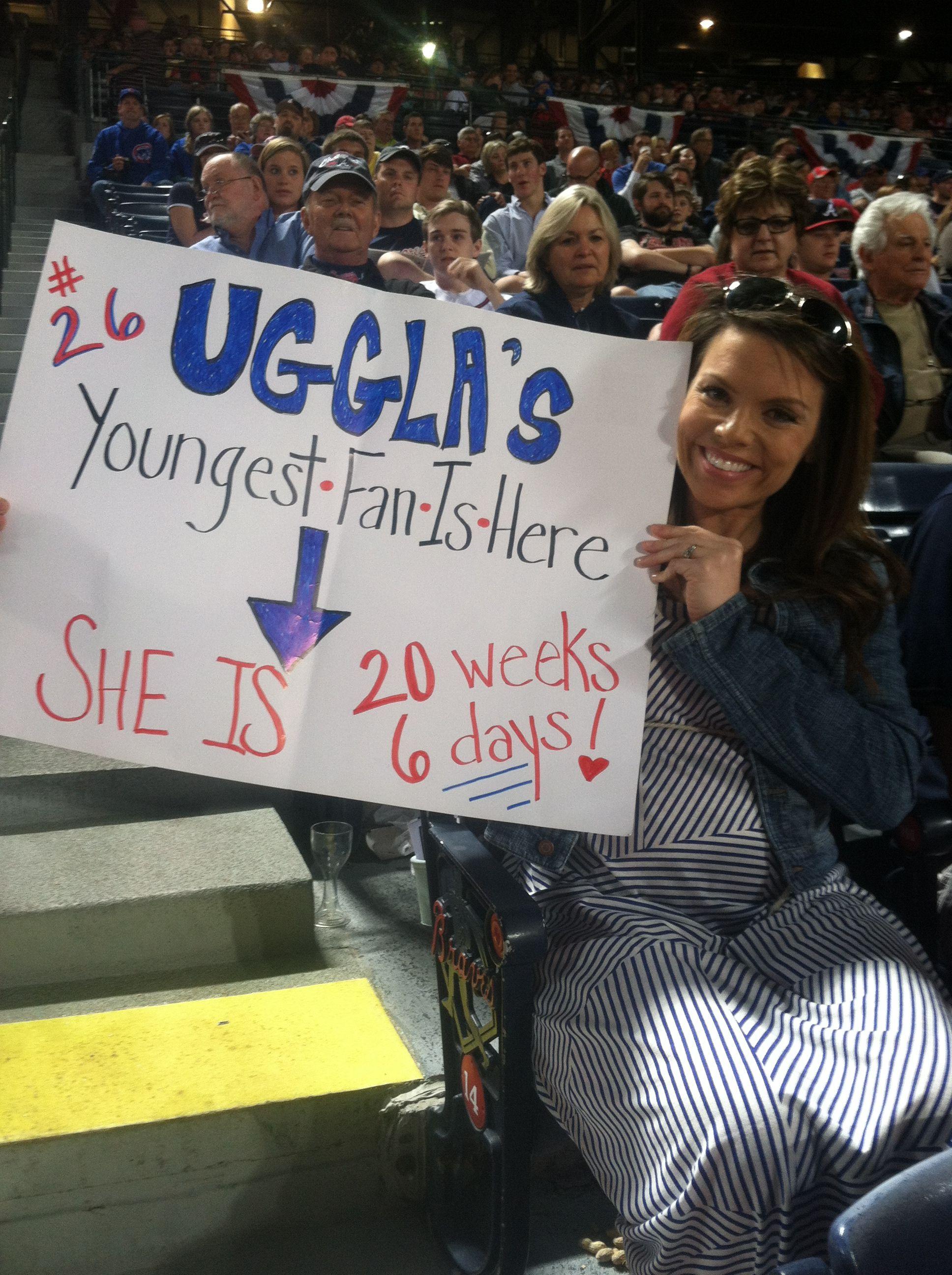 We Love Brave Babies Congrats Atlanta Braves Braves Atlanta