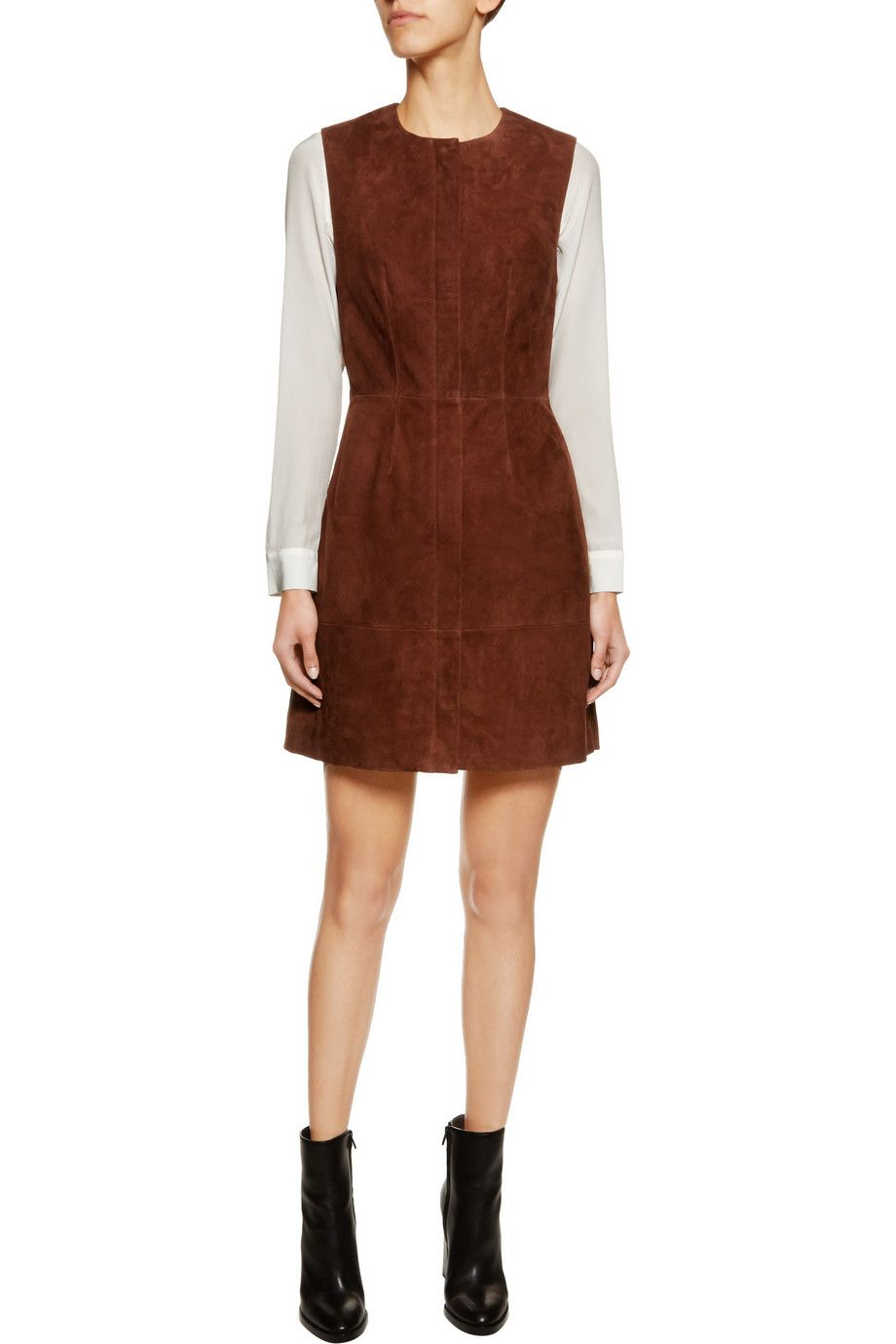 f5a707d44 Suede dress | Iris and Ink | US | THE OUTNET | Off Duty | Dresses ...