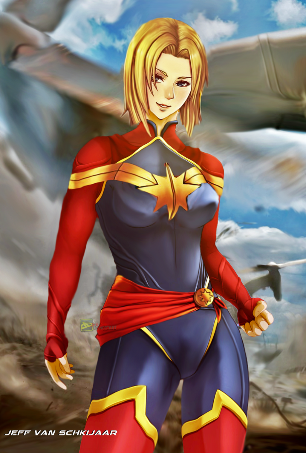captain marvel and ms relationship