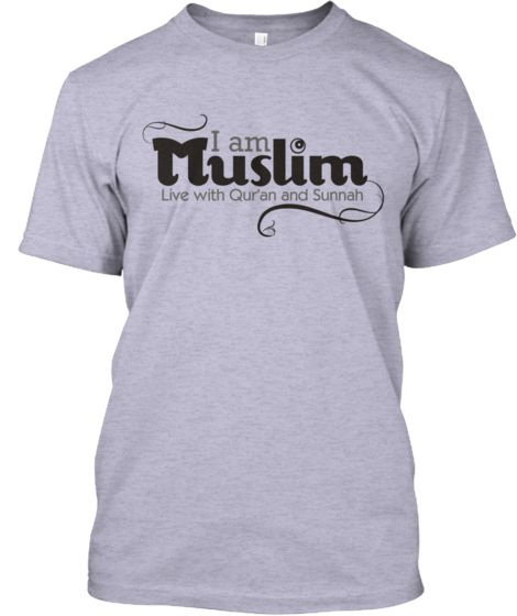 iam muslim live with quran and sunnah | limited muslim tshirt