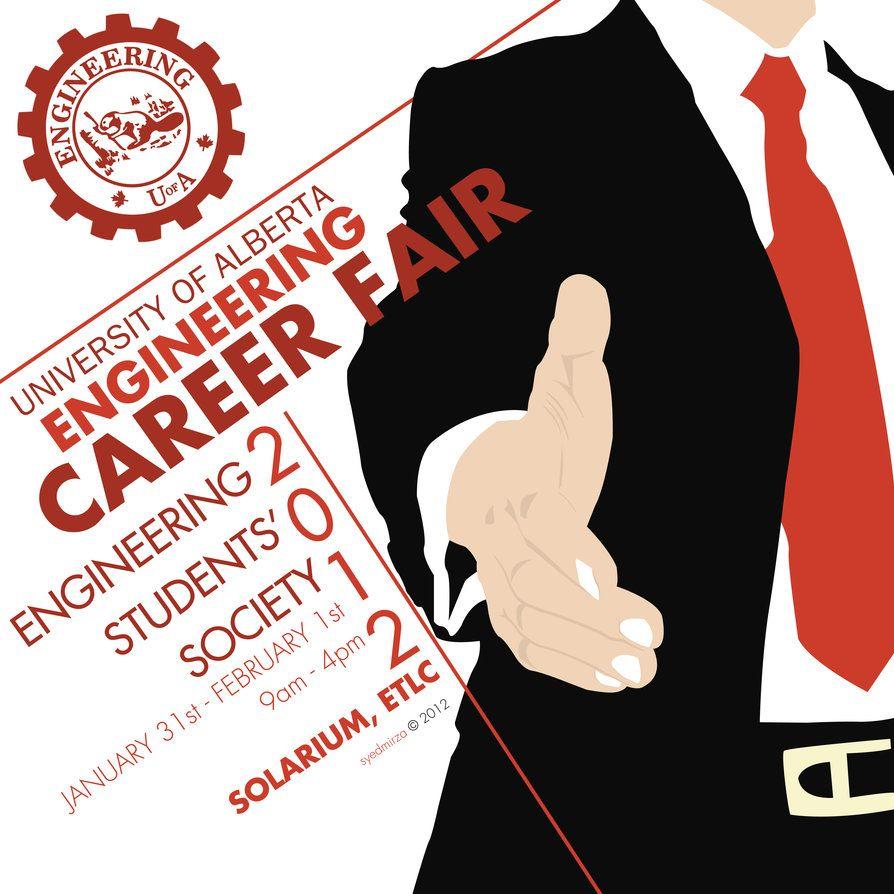 Career Fair Poster by iKaash Job poster, Job fair