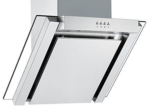 From 119 99 Angled Glass Extractor Fan Cookology Ang605ss Unbranded 60cm Angled Glass Chimney Cooker Hood In Stai Chimney Cooker Hoods Cooker Hoods Oven Vent