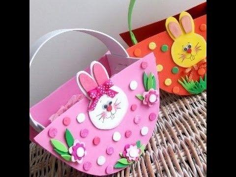How to diy easter basket crafts for kids tutorial basket how to diy easter basket crafts for kids tutorial negle Images