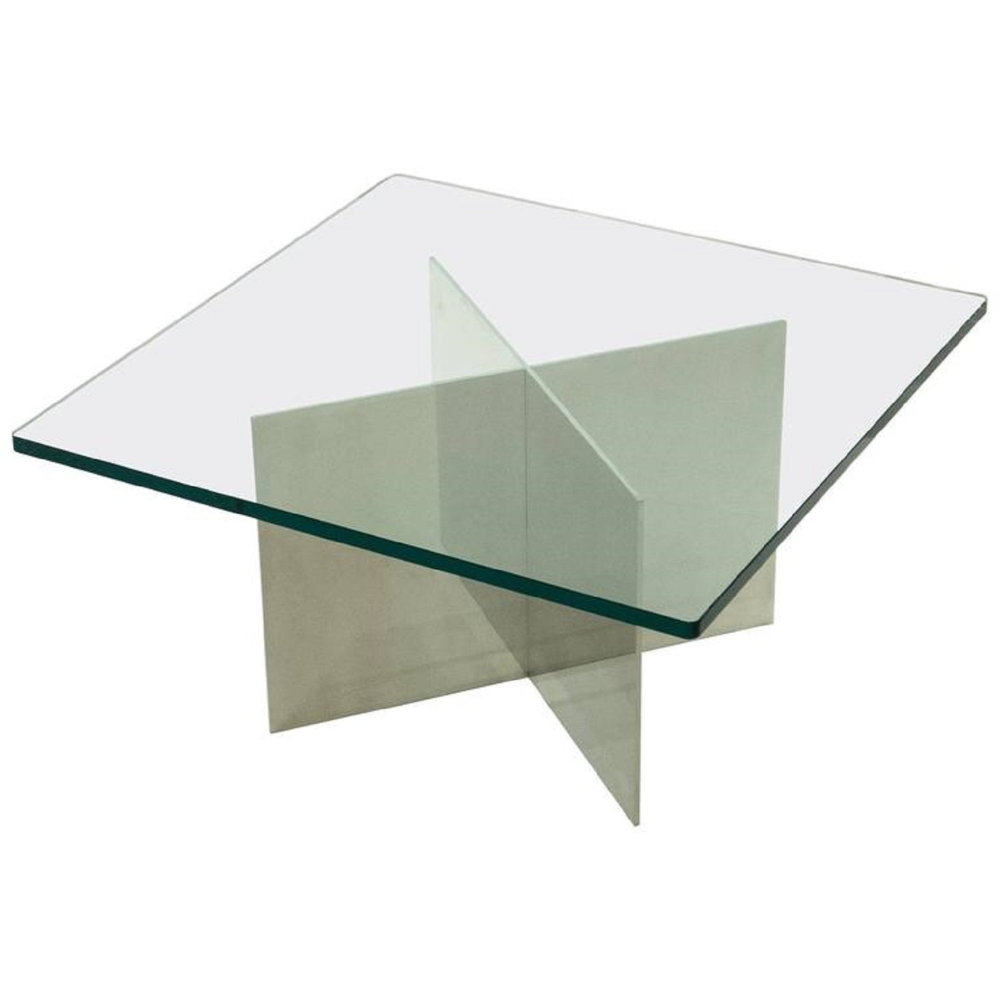 Glass X Base Coffee Table Glass Coffee Table Modern Etsy Glass Table Living Room Coffee Table Glass Top Table [ 1000 x 1000 Pixel ]