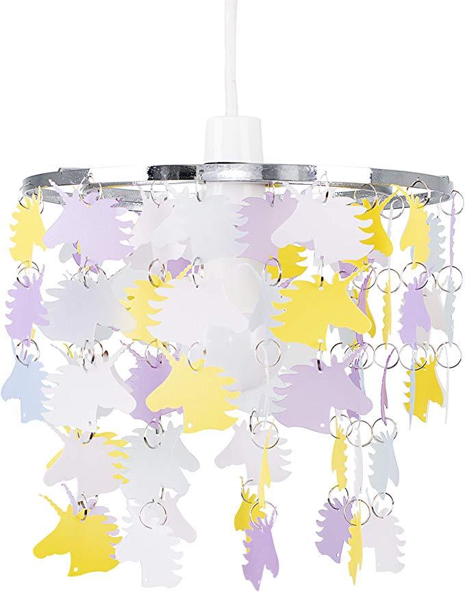 Childrens Unicorn Bedroom/Nursery Ceiling Pendant Light