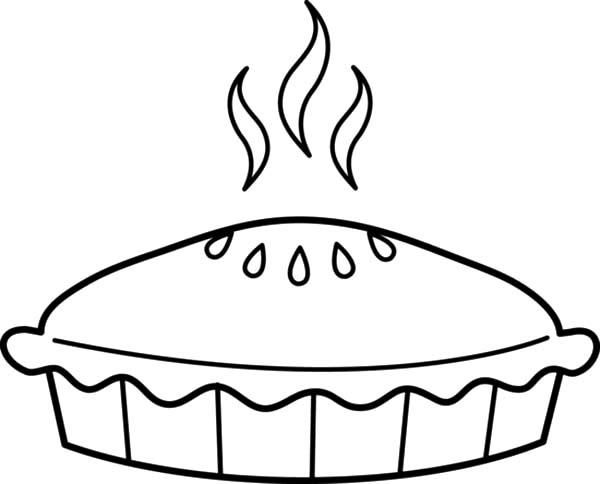 Just Baked Apple Pie Coloring Pages Apple Pie Baked Apple Pie Coloring Pages For Kids